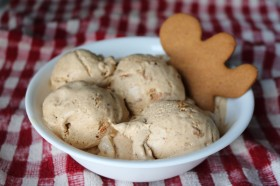 Gingerbread Cookie Ice Cream