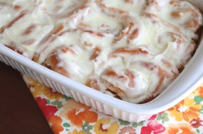 Gooey Meyer Lemon Sweet Rolls