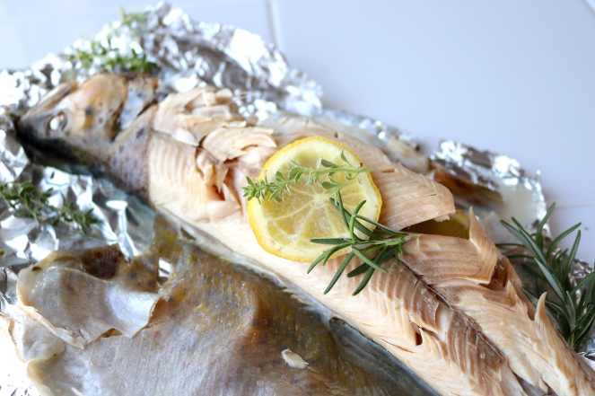 Baked Whole Trout | A Palate For Pie
