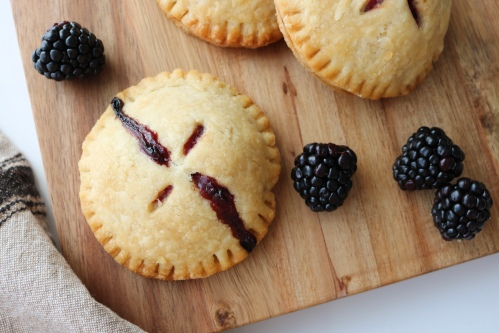 Blackberry Mascarpone Hand Pies | A Palate For Pie