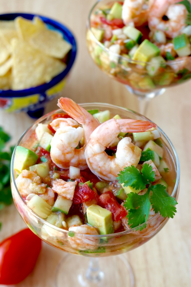 Mexican Shrimp Cocktail | A Palate For Pie