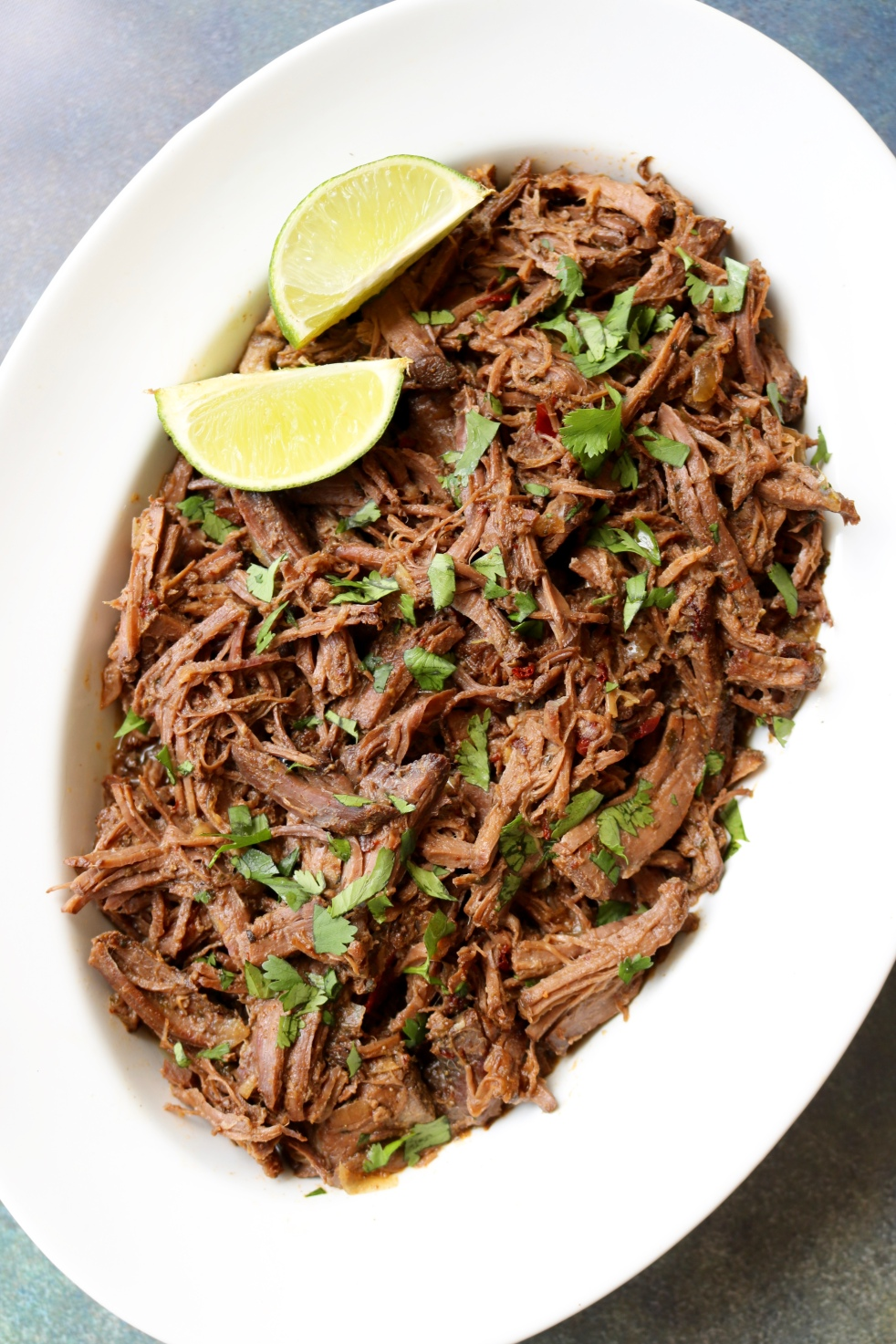 SLOW COOKER VENISON BARBACOA A PALATE FOR PIE